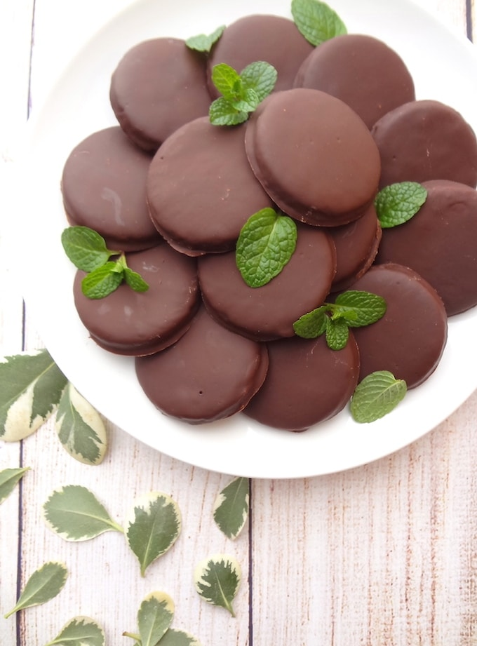 Dairy Free Thin Mints