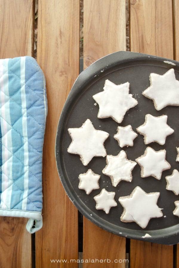 Christmas star cookies
