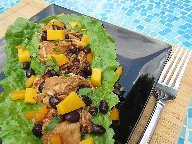BBQ Chicken Lettuce Wrap
