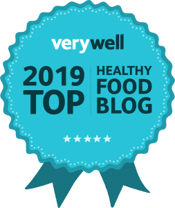 Badge for Verywell Top Healthy Food Blog