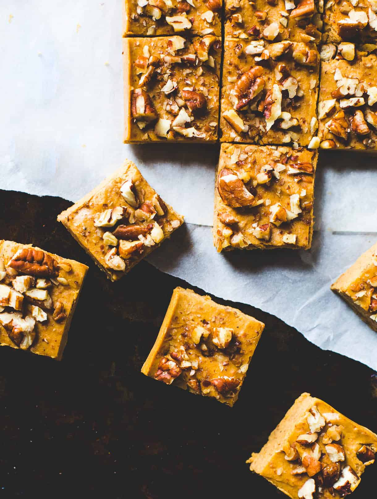 Vegan pumpkin fudge