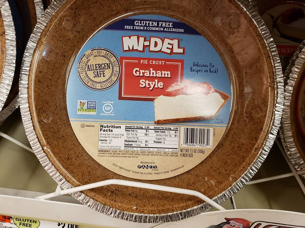 midel graham cracker crust