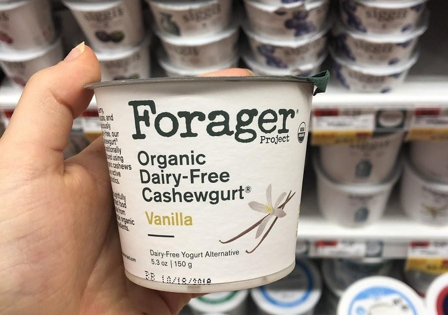 Forager cashew milk yogurt