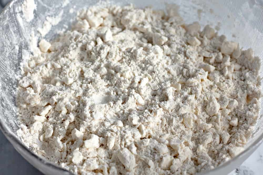 flour mixture for making homemade crescent rolls