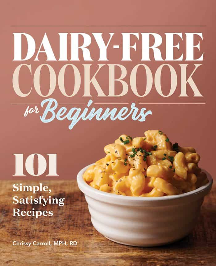 dairy free cookbook for beginners cover