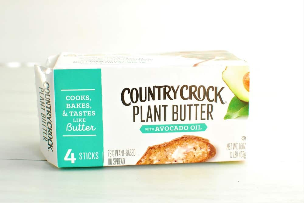 a box of vegan plant butter